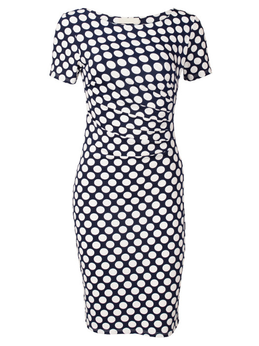 Dress Dots Navy
