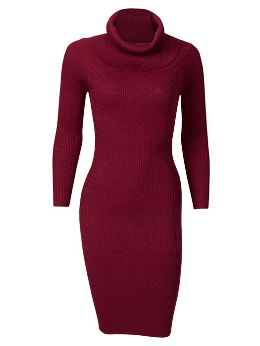 Image of Dress Glitter Bordeaux