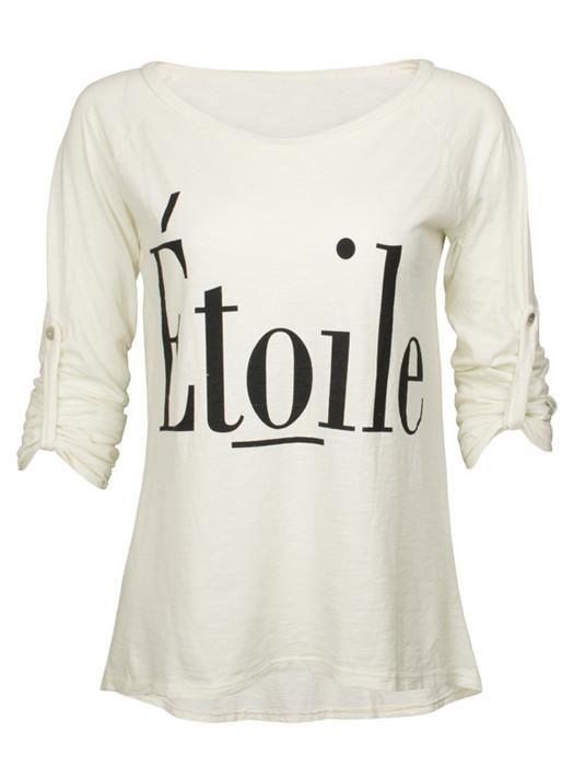 Shirt Etoile Creme