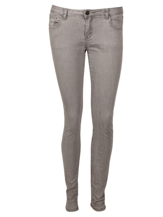 Skinny Jeans Middle Gray
