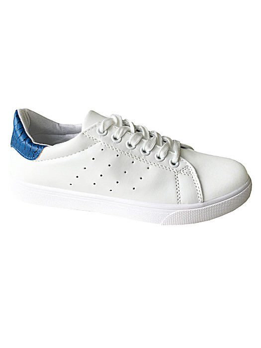 Sneakers White & Blue