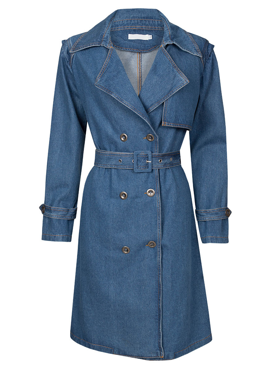 Trenchcoat Denim