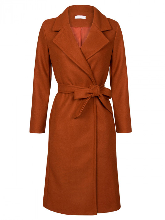 Coat Susan Brique