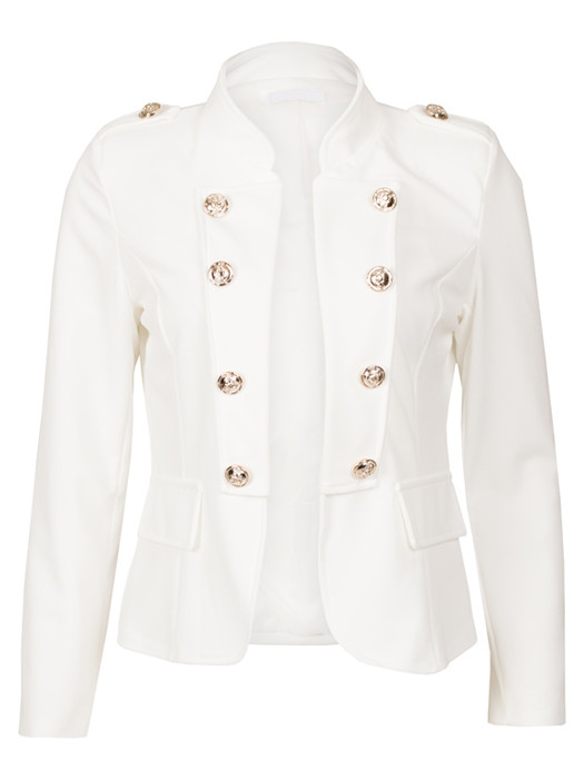 Blazer Kelly White