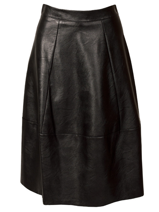 Rok Leather Look Black