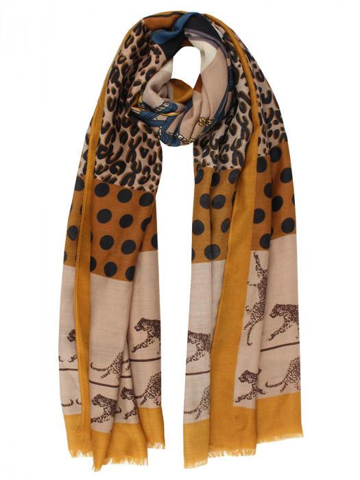 Sjaal Cheetah Camel