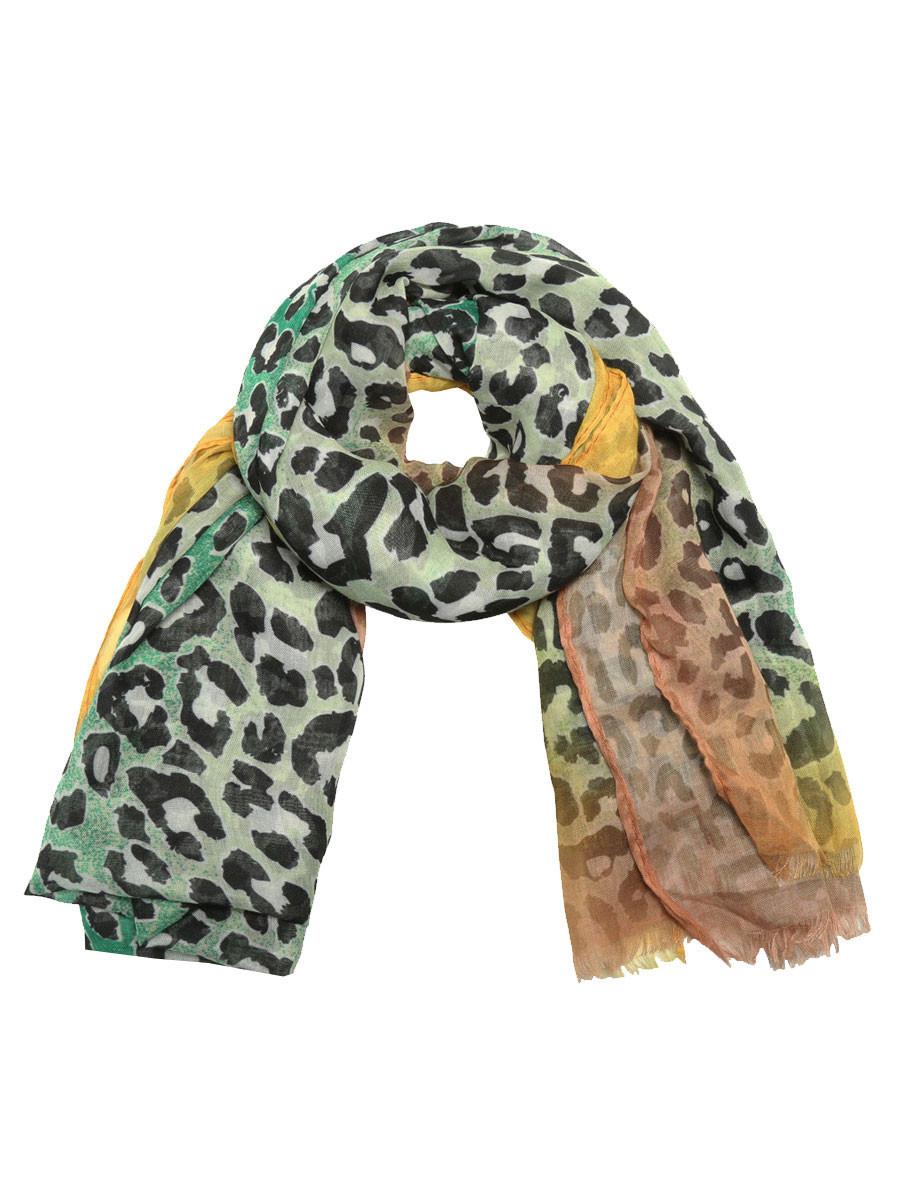 Sjaal Cheetah Groen