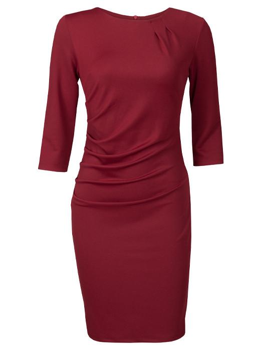Dress Elisabeth Bordeaux