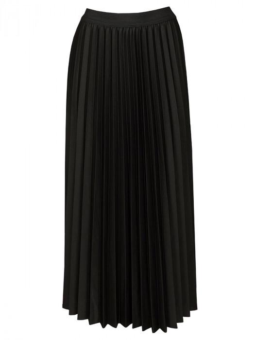 Rok Plissé Zwart