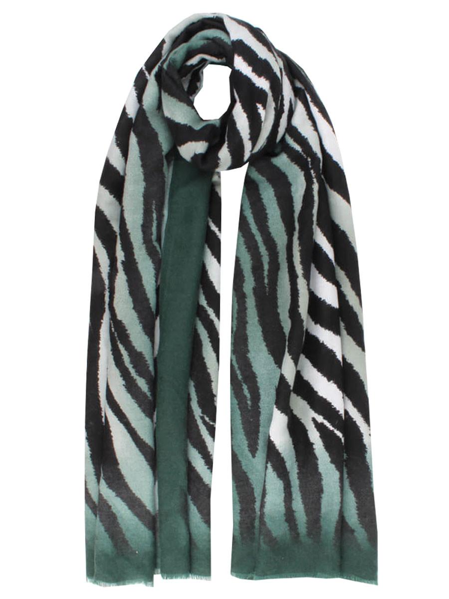 Sjaal Zebra d. Groen