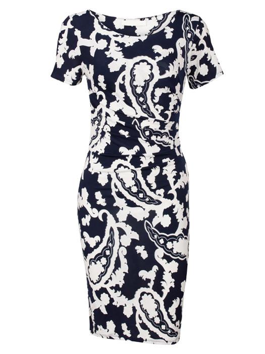 Dress Genevieve Navy