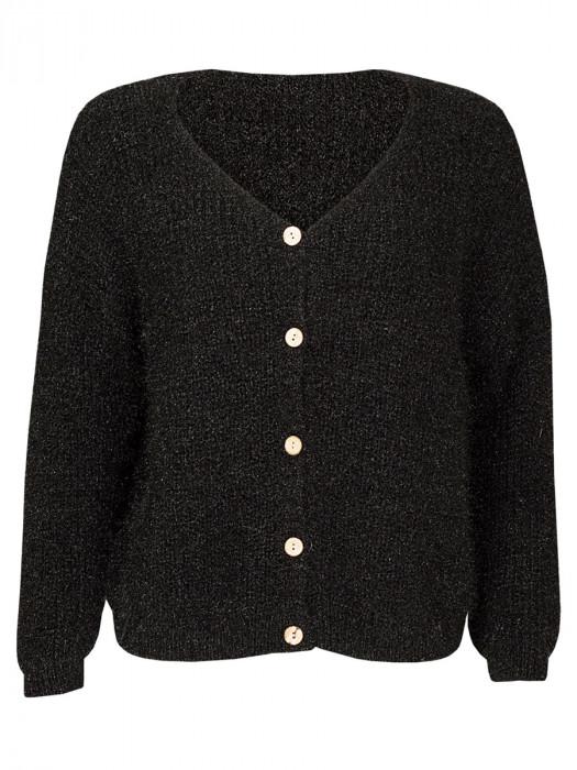 Vest Fluffy Zwart