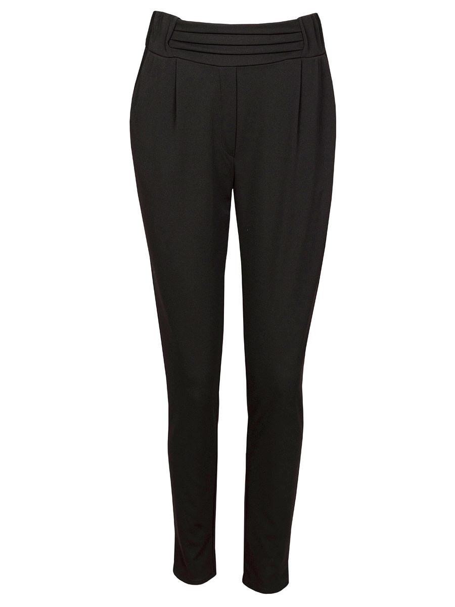 Pantalon Stretch Zwart