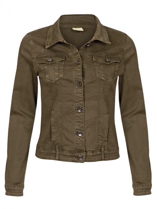 Jeans Jacket Stretch Army