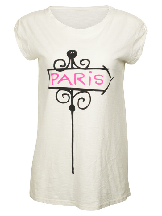 Shirt Paris Creme
