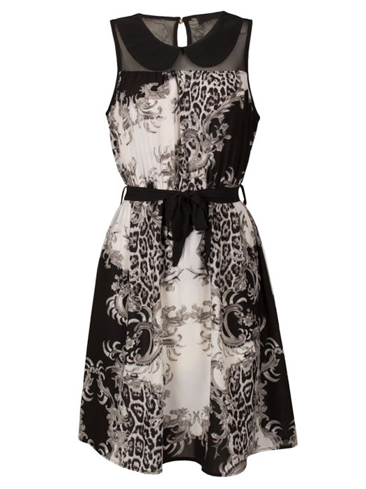 Image of Dress Florance Gray