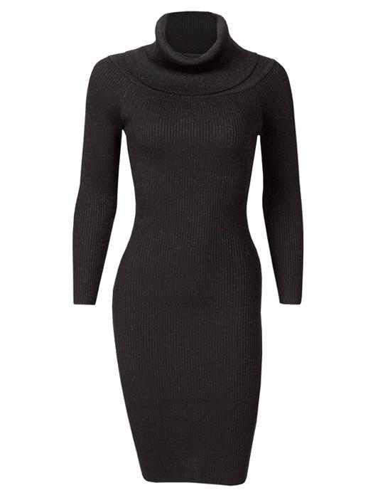 Dress Glitter Black