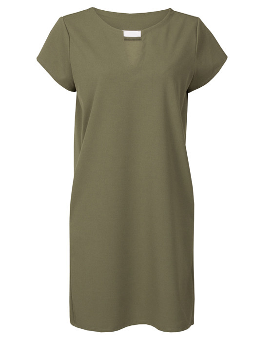 Image of Dress Chelsey Army