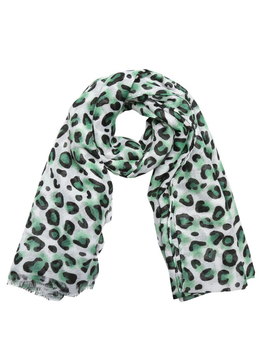 Sjaal Wild Leopard Groen