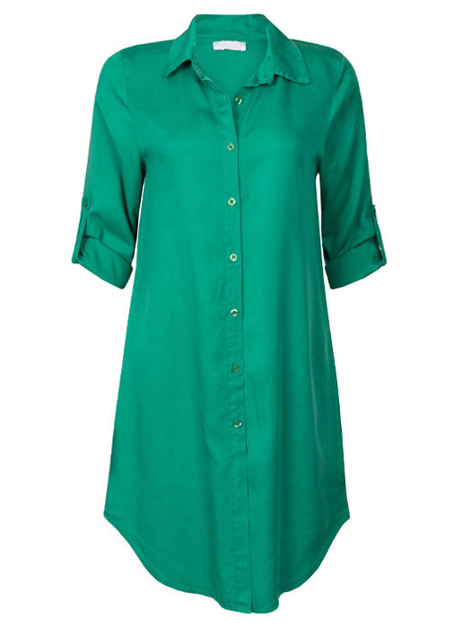 Blouse Long Green