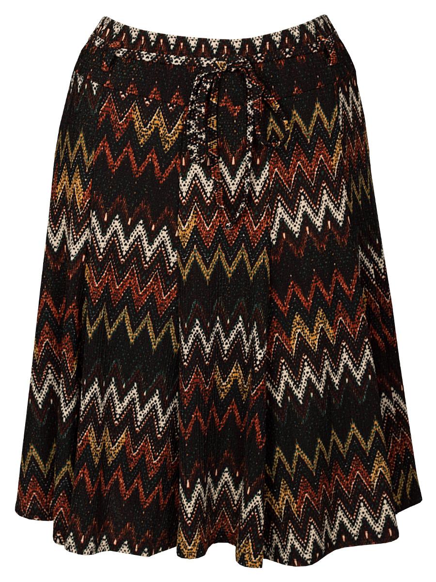 Van Fashionize Rok Zig-Zag Zwart Prijsvergelijk nu!