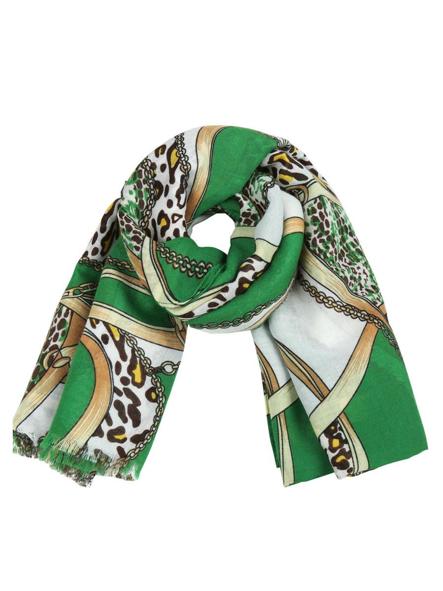 Van Fashionize Sjaal Chains Groen Prijsvergelijk nu!