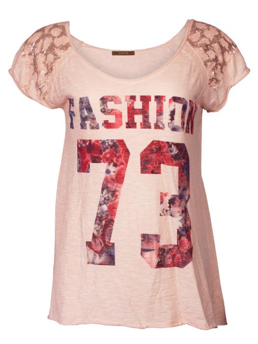 Shirt Fashion Salmon