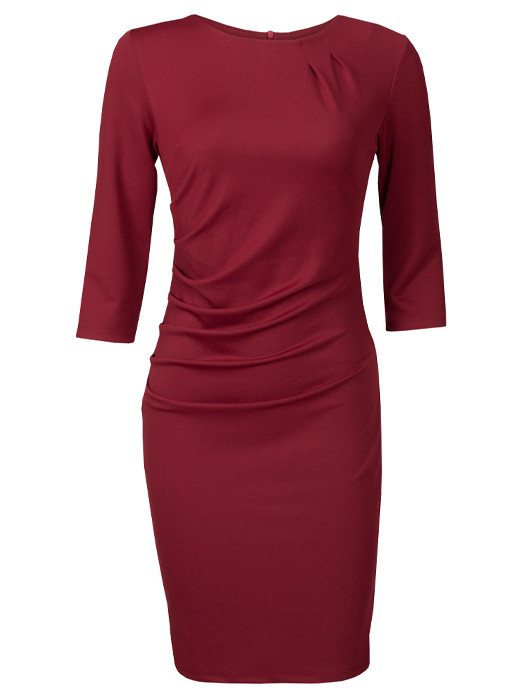 Dress Elisabeth Bordeaux