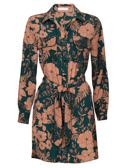 Van Fashionize Blouse Long Flowers Prijsvergelijk nu!