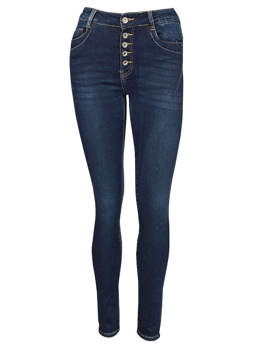 Norfy Jog Jeans Blauw