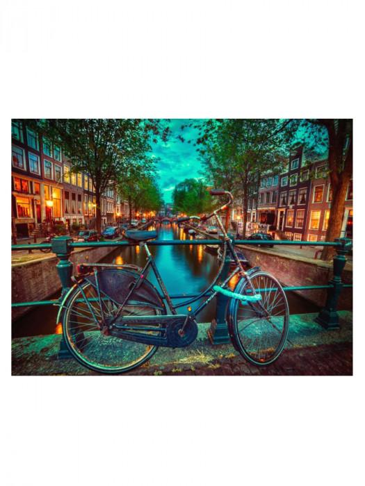 Amsterdamse Fiets 50x40 Diamond Painting