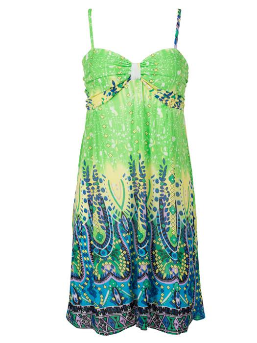 Dress Beach Green