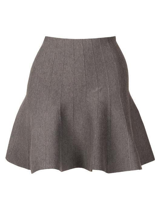 Image of Skater Skirt Gray