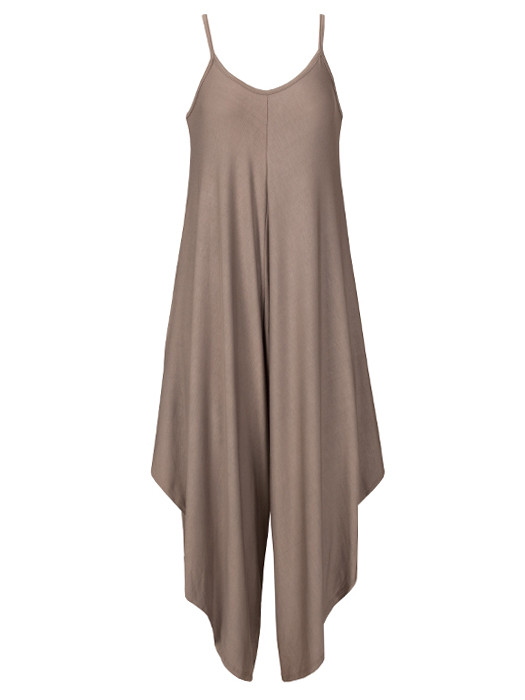Image of Comfy Jumpsuit Taupe