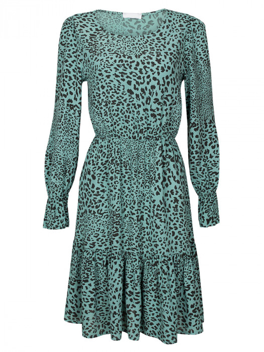 Jurk Cheetah Mint