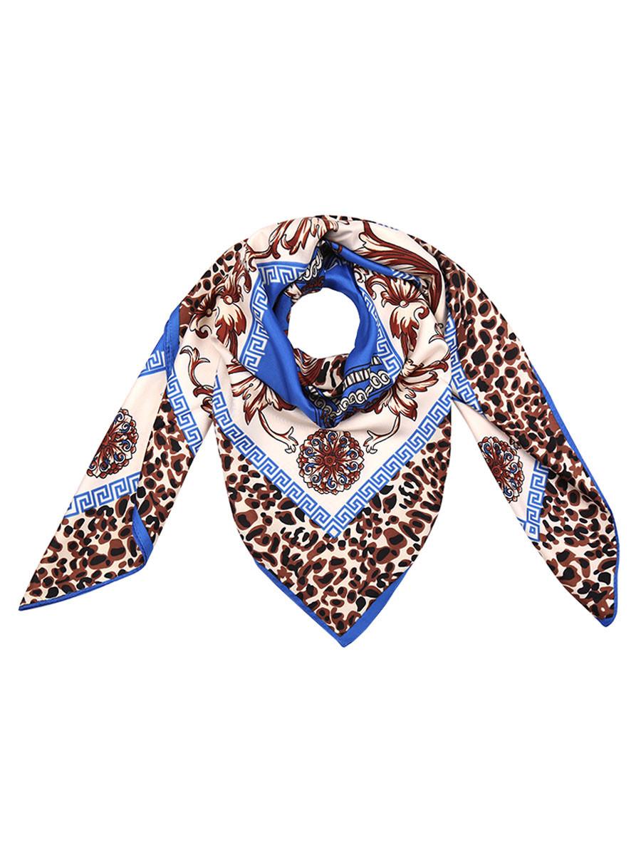 Sjaal Leopard Chique Blauw