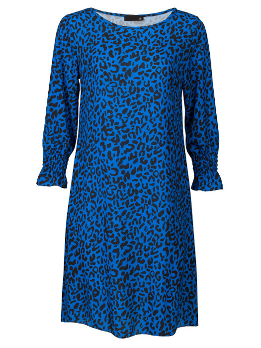Dress Leopard Blue