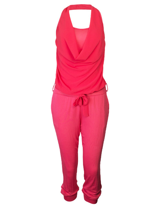 Trendy Jumpsuit Coral