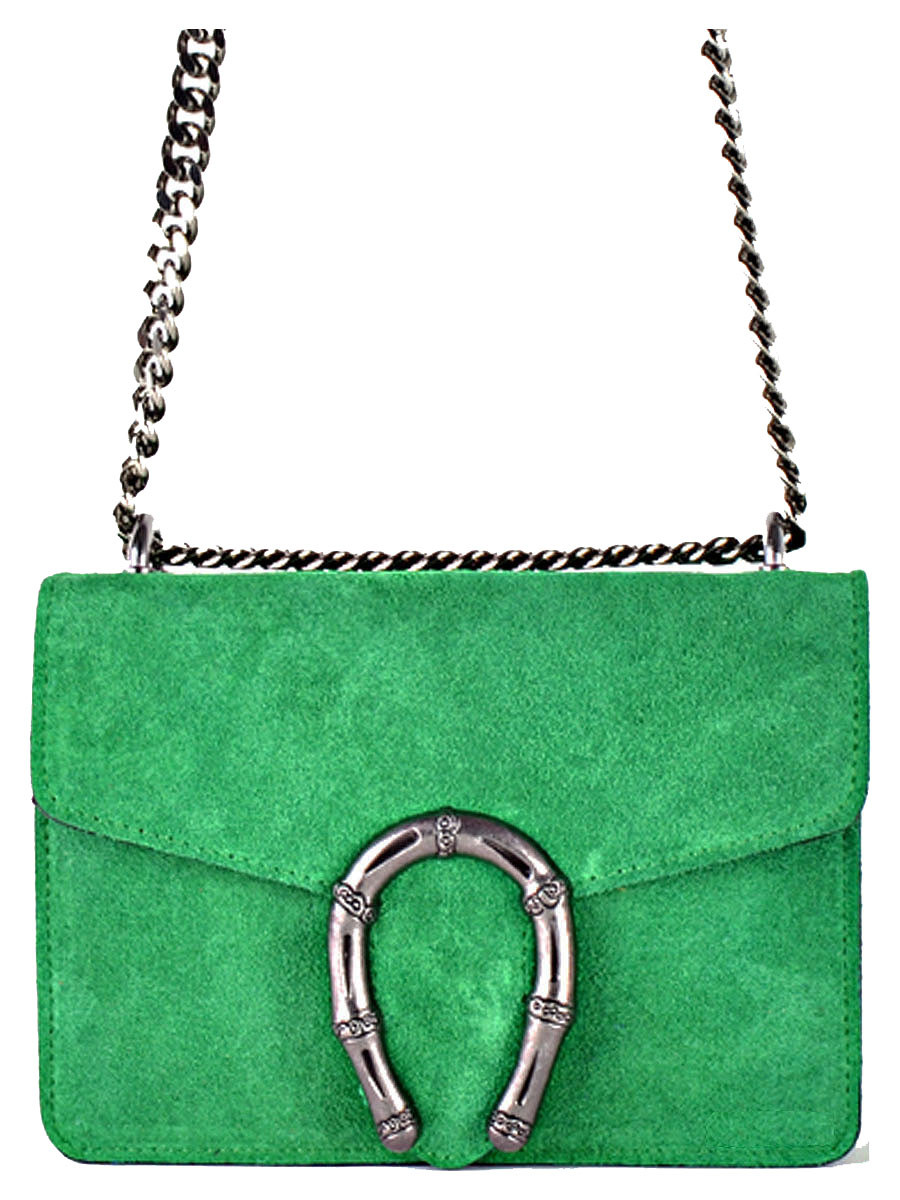 Leather Bag Jackie Green