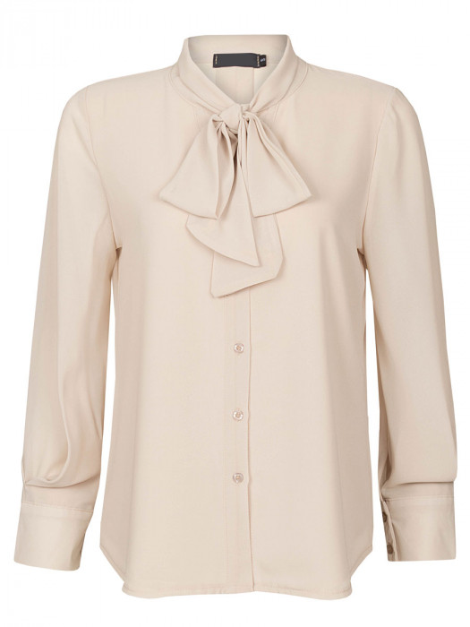 Blouse Strik Beige