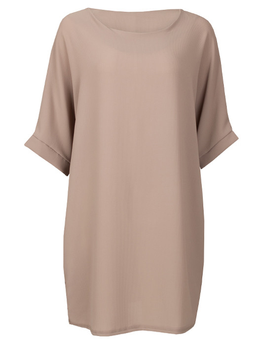 Comfy Dress Taupe