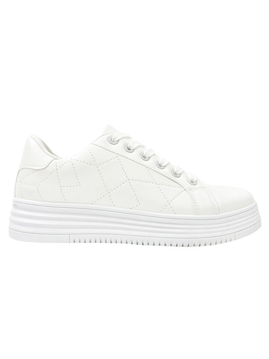 Sneakers Stitched White