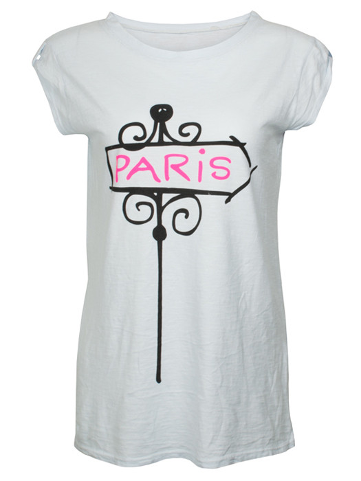 Shirt Paris Blue