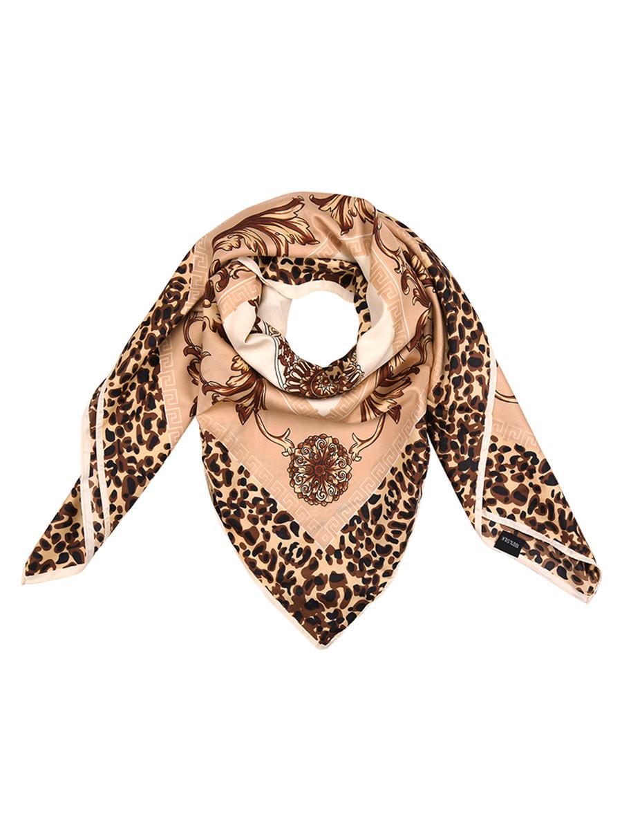 Sjaal Leopard Chique Beige