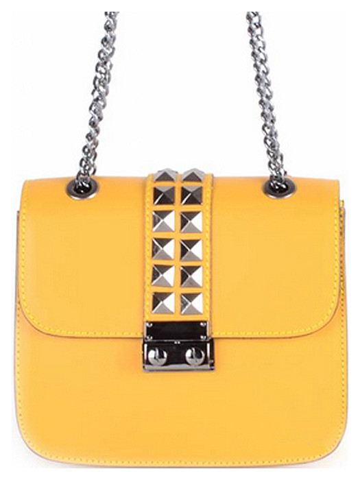 Van Fashionize Leather Bag Studs Yellow Prijsvergelijk nu!