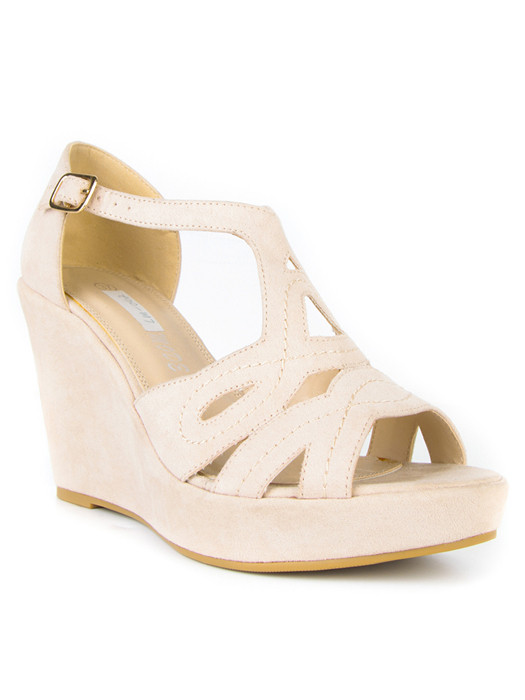 Wedges Lucy Beige