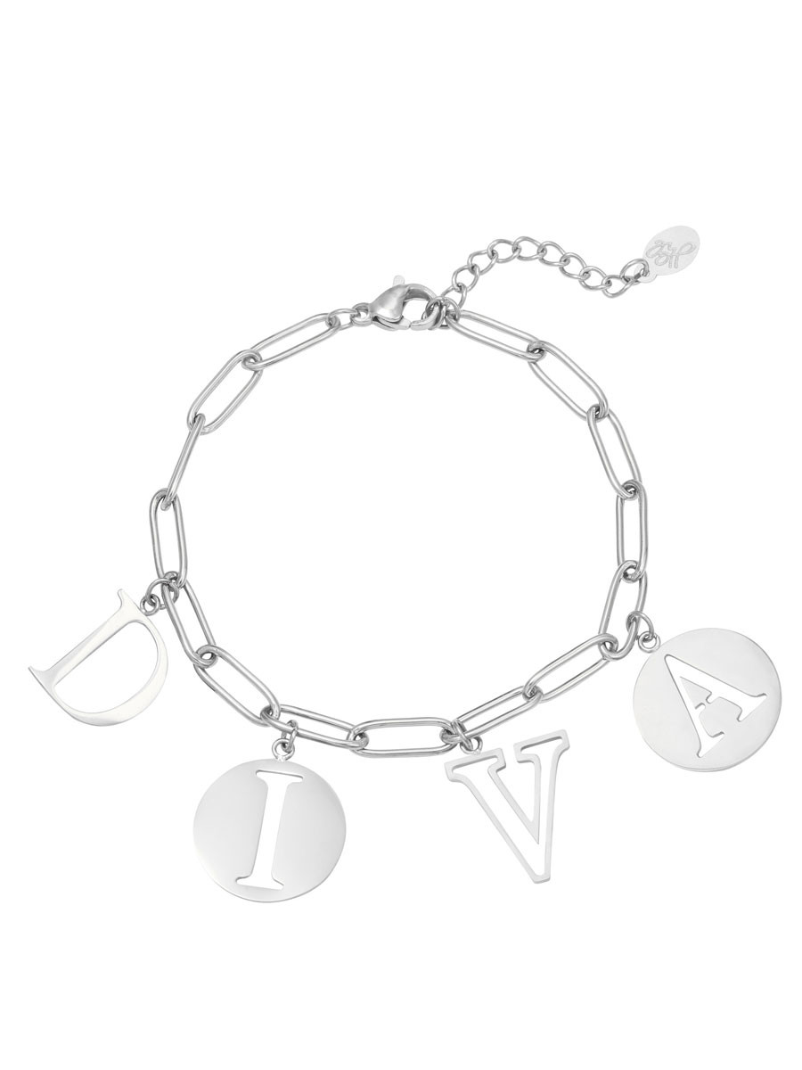 Armband Diva Zilver