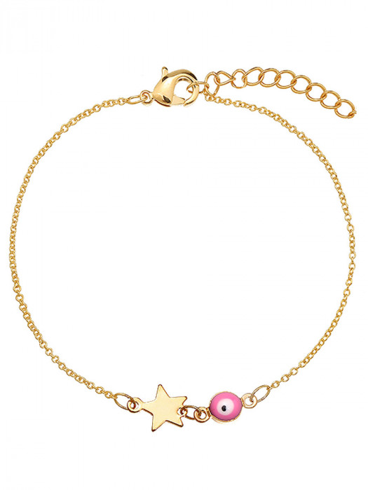 Armband Eye Star Roze