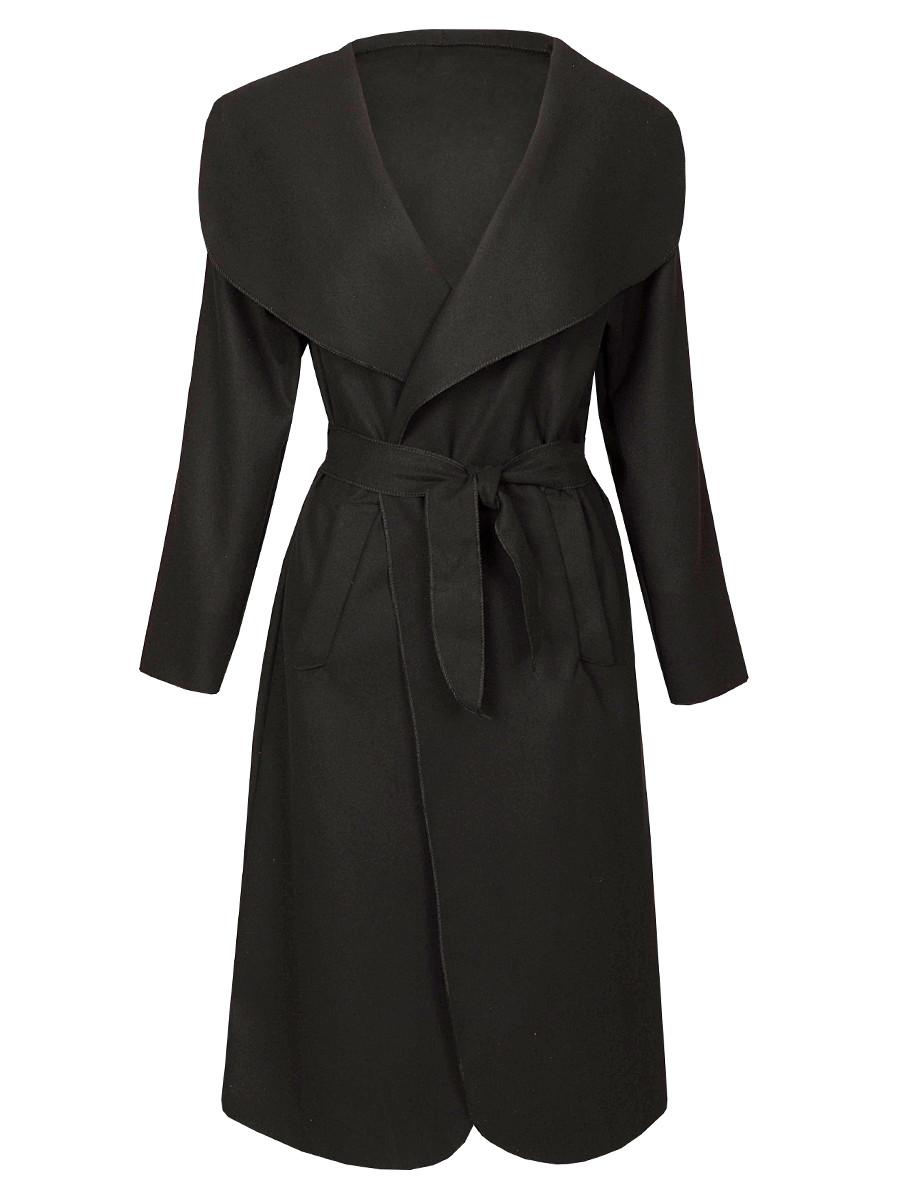 Image of Coat Parisian Black