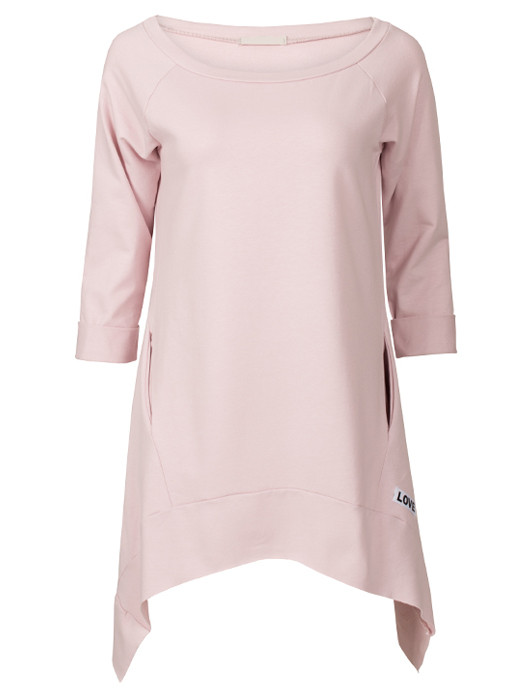 Sweater Dress Love Pink
